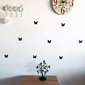 Samolepky   motýlik