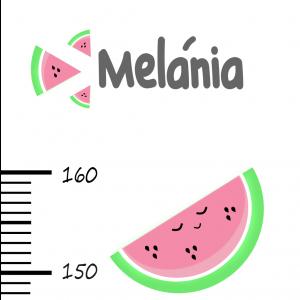 Meter na stenu   melóniky