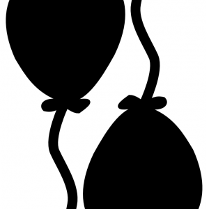 Samolepka   balóniky