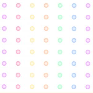 Dúhované bodky   viacfarebné
