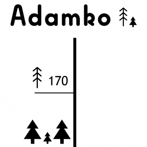 Meter s menom dieťatka   stromčeky